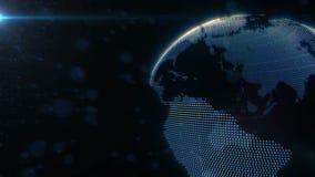 Planeten-Erde angeschlossen lizenzfreie abbildung