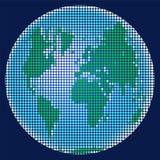 Planeten-Erde vom Mosaik Stockfotos