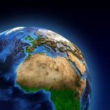 Planeten-Erdelandforms Stockfoto