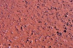 Planeten fördärvar Rusty Surface Arkivfoto