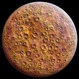 Planeten-Mars-Rot Stockfoto