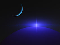 Planeten-Quasar-Stern Stockfotografie
