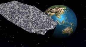 Planetenblau lizenzfreie abbildung