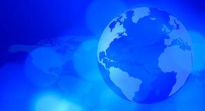Planetenerdblaues Darstellungskonzept lizenzfreie abbildung
