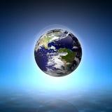 Planetenerde Lizenzfreies Stockfoto