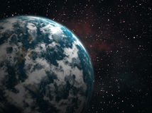 Planetenerde stock abbildung