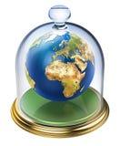 Planetenerde wird geschützt Stockfotos