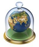 Planetenerde wird geschützt Stockfoto