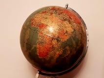 Planetenerdkugel lizenzfreie stockbilder