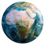 Planetenerdkugel stockfoto