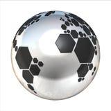Planetenfußball Stockfotografie
