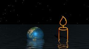 Planetenwelt stock abbildung