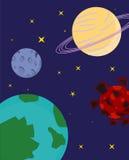 Planeter Arkivfoto