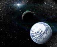 Planeter i utrymme Royaltyfria Foton