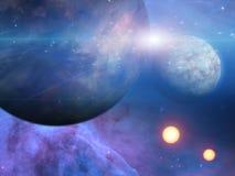 Planeter och solar Royaltyfri Foto