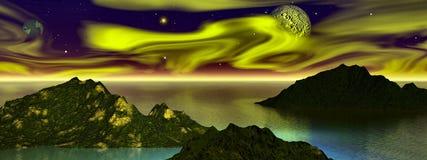 planetfall Стоковое Изображение RF