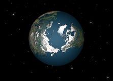 Planetjord Royaltyfri Foto
