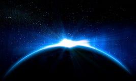 Planetjord Arkivfoton