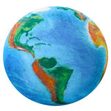 Planetjord arkivbild