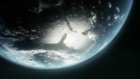 Planetjord stock illustrationer