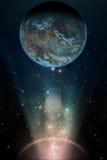 Planetrise Stock Image