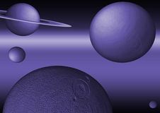 Planets. Few planets Royalty Free Stock Photos
