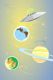 Planets and Alien Stock Photography