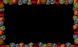 Planets frame Stock Image