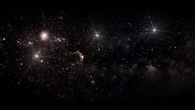 Planets and galaxy, science fiction wallpaper. Beauty of deep space. Billions of galaxy in the universe Cosmic art background stock photos