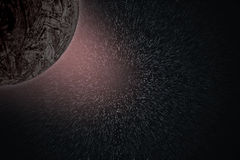 Planets and galaxy, secret universe Royalty Free Stock Images