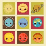 Planets icon Stock Image