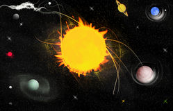 Free Planets In Solar System Stock Photography - 12757512