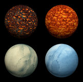 Planets set Royalty Free Stock Image