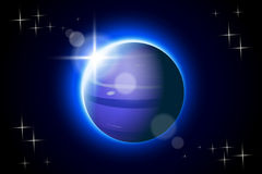 Planets set13 neptune Royalty Free Stock Photo