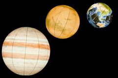 Planets of Solar System Royalty Free Stock Photo
