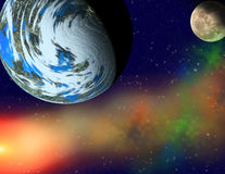 Planets in a space. Royalty Free Stock Images
