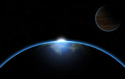 Planets in Space. For your site or background Stock Photography