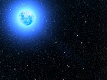 planetskystjärnor Royaltyfria Foton