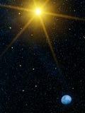 planetskystjärnor Royaltyfri Foto