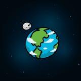 Planetsymbolsdesign Royaltyfria Foton