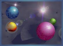 planety ilustracja wektor