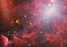 Planety, gwiazdy i galaxies w kosmosie pokazuje piękno eksploracja przestrzeni kosmicznej, Elementy meblujący NASA - Wizerunek zdjęcie royalty free