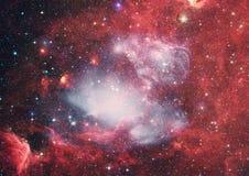 Planety, gwiazdy i galaxies w kosmosie pokazuje piękno eksploracja przestrzeni kosmicznej, Elementy meblujący NASA - Wizerunek obrazy royalty free