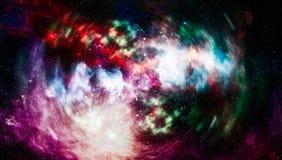 Planety, gwiazdy i galaxies w kosmosie pokazuje piękno eksploracja przestrzeni kosmicznej, Elementy meblujący NASA fotografia royalty free