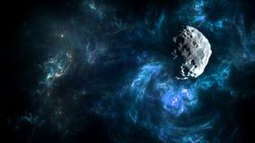 Planety i galaxies, nauki fikci tapeta Piękno głęboka przestrzeń ilustracji