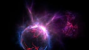 Planety i galaxy, nauki fikci tapeta Pi?kno g??boka przestrze? Miliardy galaxy w wszechrzeczym Pozaziemskim sztuki tle, Ver fotografia stock
