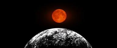 Planety i galaxy, nauki fikci tapeta Pi?kno g??boka przestrze? Miliardy galaxy w wszechrzeczym Pozaziemskim sztuki tle, Ver zdjęcie stock