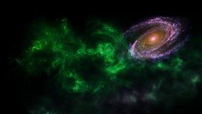 Planety i galaxy, nauki fikci tapeta Pi?kno g??boka przestrze? Miliardy galaxy w wszechrzeczym Pozaziemskim sztuki tle, Ver fotografia royalty free