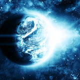 planety piękna przestrzeń Obraz Stock