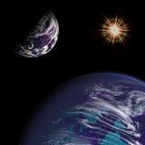 planety słońce Obraz Stock